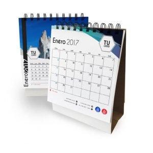 Almanaque Anillado 14 x 15 cm + Organizador