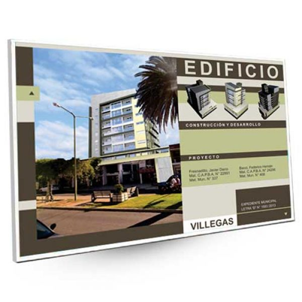 Imprenta de Carteles de Obra en 24 hs, Buenos Aires | Pymedia