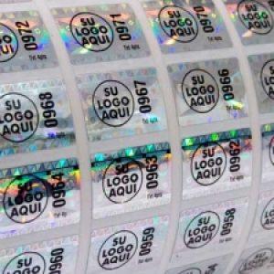 Stickers en Vinilo holografico
