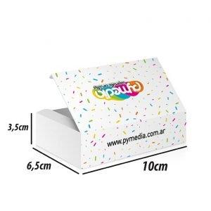 Cajas para tarjetas personales en 24 hs – A402