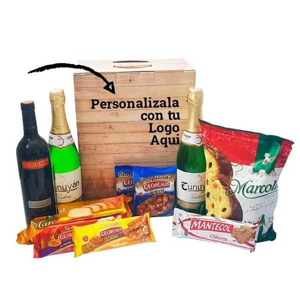 Cajas Navideñas Premium Personalizadas en 24 hs | Pymedia S.A.