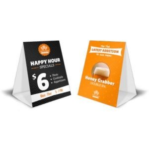 Carpitas de Mesa – Table tents