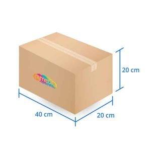 Caja Carton Doble Triple Extra Dura 30X30X30 cms