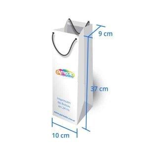 Bolsas de Cartulina 10 x 37 x 9 cm