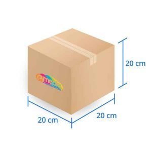 Caja Carton Basica 20X20X20 cms