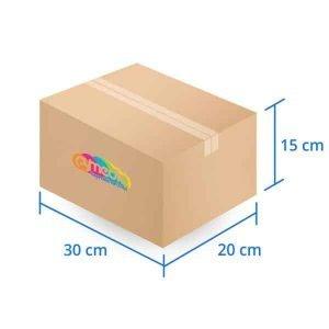 Caja Carton Basica 30X20X15 cms